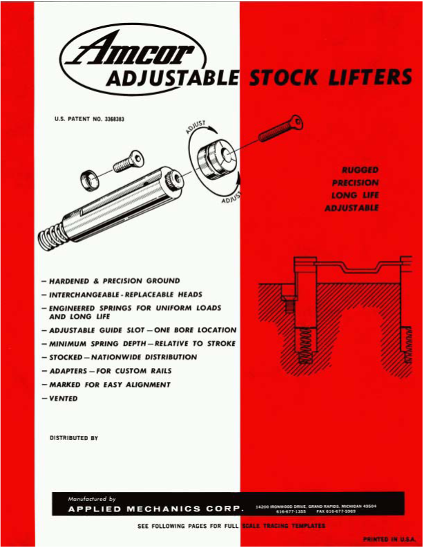 Adjustable Stock Lifters